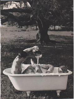 bath time meets nature meets love