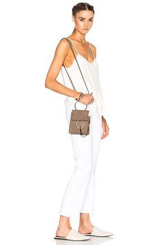 Image 2 of Chloe Faye Mini Bracelet Bag in Motty Grey