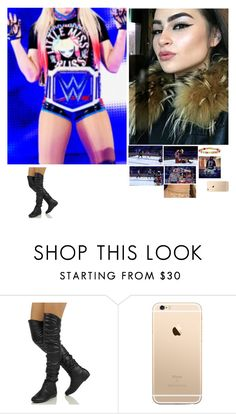 """💋Allison 💋-Little Miss Bella"" by banks-on-it ❤ liked on Polyvore featuring WWE and BLVD Supply"
