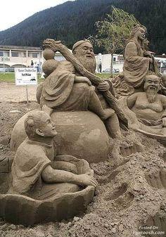 Photo Gallery : Incredible Sand Art Showcase - Funtoosh.com