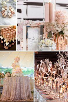 Rose Gold Wedding Inspiration from Burgh Brides