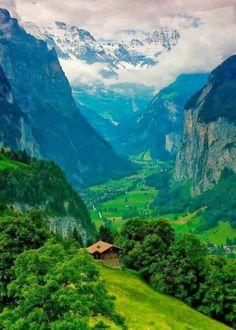 Valley of Dreams - Interlaken, Switzerland Welcome to Heidi/Sound of Music wonderland...