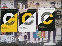 Brand New: New Logo and Identity for Croydon School of Art by Blast
