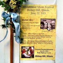 Midsommer Music Festival, Historic Bishop Hill, IL