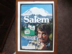 Salem Cigarettes 1980 magazine print ad, tobacco advertisement  Visit eCrater for great deals on a huge selection .Shop ivanhoe.ecrater.com!  The Great Ebay Alternative. We have a huge selection of vintage magazine print advertising, magazine back issues, cassettes and music cd's, dvd's, books, vhs and more.  Dare to Compare.  Best prices on the internet.