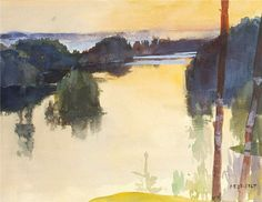 Edelfelt, Albert (1854-1905) - 1889 Landscape by RasMarley, via Flickr