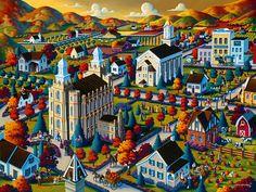 Logan Fall by Eric Dowdle - Logan Utah