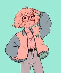 illustration of girl character design Cartoon Kunst, Cartoon Drawings, Cute Drawings, Pencil Drawings, Cute Art Styles, Cartoon Art Styles, Bel Art, Art Du Croquis, Art Mignon