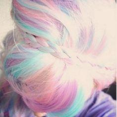 Unicorn hair!!