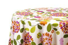 Mantel Yuni - Porque siempre una flor es la expresión de la belleza natural, nos pone de fiesta, con profusión de colores y frescura que se contagian.