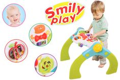 Stolik interaktywny Muzyczne Centrum SMILY PLAY 3w1 - hitcena.pl