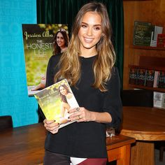 Tomorrow's Work Outfit Made Easy (and Sleek) — Thanks to Jessica Alba. #celebrity #style #outfit