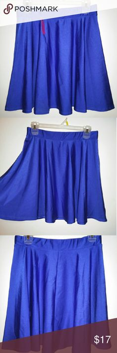 Love Culture Skater Skirt Never been worn. New with tags. Great material. Pair it with fishnets! Skirts Circle & Skater