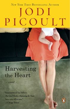 Harvesting the Heart by Jodi Picoult. It is in the fiction section of the DHS Library, F PIC.