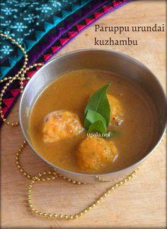 Paruppu urundai kuzhambu http://www.upala.net/2015/07/paruppu-urundai-kuzhambu.html