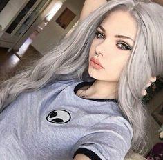 Gray Wigs Lace Hair Beard Shampoo For Grey HairLight Gray Hair Color Grey Hair Wig, Lace Hair, Hair And Beard Styles, Short Hair Styles, Grey Hair Extensions, Beard Shampoo, Blonde Ponytail, Ponytail Wig, Platinum Blonde Hair