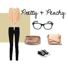 Pretty & Peachy #beatgirl #fashion #style #amy #pretty