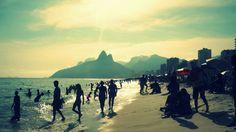 Ipanema, Rio --- Photo taken by Esmeralda Spiteri