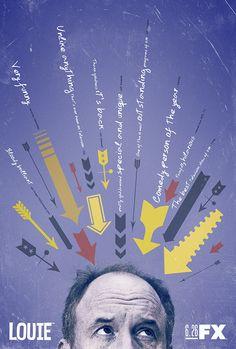 Louie  #Alternative #Movie #Poster by Ozan Karakoç