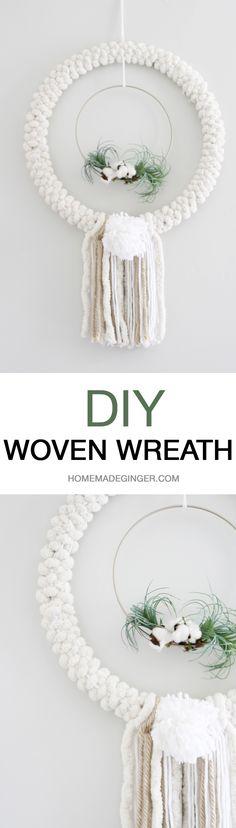 Create a DIY woven w