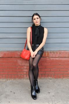 How I define my style - click to find out! #style #fashionblogger #blogger #allblack