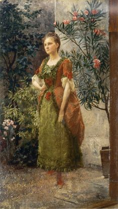 Gustav Klimt- Portrait of Emilie Flöge, 1893