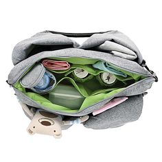 Packed with an amazing array of features, this is the Swiss army knife of diaper bags.