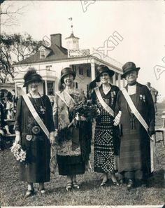 1925 Daughters of The American Revolution at Mount Vernon Virginia Press Photo | eBay
