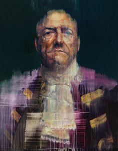 CONOR HARRINGTON. GRAFFITI TURNED GALLERY ARTIST.