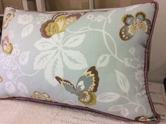 A personal favorite from my Etsy shop https://www.etsy.com/listing/520546883/14x24-rectangle-lumbar-butterfly-pillow