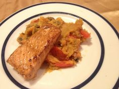 Clean eating: sweet teriyaki salmon. Easy, delicious, and nutritious.