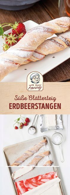 Blätterteig Erdbeerstangen No more than 5 ingredients needs this Our strawberry sticks with pastry are also made quick & probably just as fast eaten. Puff Pastry Recipes Savory, Pie Pastry Recipe, Breakfast Pastries, Sweet Pastries, Torte Au Chocolat, Fresh Strawberry Recipes, Strawberry Bars, Oktoberfest Party, Sweet And Salty