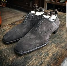 (notitle) - – Shoes World Look Fashion, Fashion Shoes, Mens Fashion, Tokyo Fashion, Asian Fashion, Formal Shoes, Casual Shoes, Suede Shoes, Shoe Boots