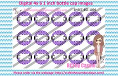 1' Bottle caps (4x6) digital editable BCI-1096   PLEASE VISIT http://craftinheavenboutique.com/AND USE COUPON CODE thankyou25 FOR 25% OFF YOUR FIRST ORDER OVER $10! #bottlecap #BCI #shrinkydinkimages #bowcenters #hairbows #bowmaking #ironon #printables #printyourself #digitaltransfer #doityourself #transfer #ribbongraphics #ribbon #shirtprint #tshirt #digitalart #diy #digital #graphicdesign please purchase via link http://craftinheavenboutique.com