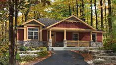 Cottonwood Floor Plan (Beaver Homes & Cottages) [3 Beds, 2 bath, 1392 sq ft 46′-0″w x 40′-0″d]