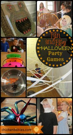 These halloween party games would be great for a fun family night