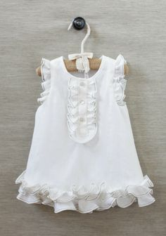 Maria Organic Ruffled Dress | Modern Vintage Children