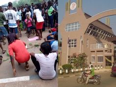 UNIBEN Shut Down Following Students Protest On Fees Hike