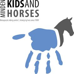 Kids and Horses - provide safe and educational equine-assisted therapeutic riding to children and adults with disabilities (Minden, NV). Great logo!