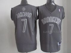 http://www.xjersey.com/brooklyn-nets-7-johnson-grey-christmas-jerseys.html Only$34.00 BROOKLYN #NETS 7 JOHNSON GREY CHRISTMAS JERSEYS #Free #Shipping!