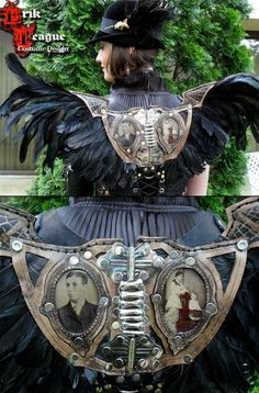 Coque Feather Wings and details by Erik Teague Design / Opergeist Haberdashery
