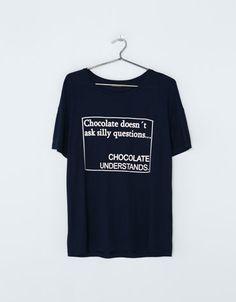 Bershka España -Camiseta Bershka chocolate
