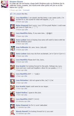 Fairy Tail on Facebook!