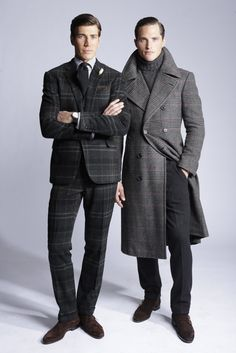 Ralph Lauren Embraces Tweed for Fall -