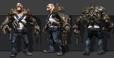 Amazing 3D Game Character Design Masterpieces and Tips Tricks for beginners | Read full article: http://webneel.com/25-amazing-3d-game-characters-tips-tricks | more http://webneel.com/3d-characters | Follow us www.pinterest.com/webneel
