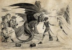 Just Married: Hiccup and Astrid by inhonoredglory.deviantart.com on @deviantART