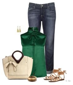 """""""Holiday Weekend"""" by ksims-1 ❤ liked on Polyvore featuring Paige Denim, Dsquared2, Splendid and Angélique de Paris"""