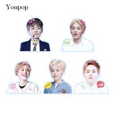 Youpop KPOP EXO XIUMIN Album PVC Stickers For Luggage Cup Notebook Laptop Car Fridge DIY Stickers TZ011 #Affiliate