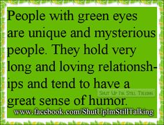 Interesting Strange Fact About People With Green Eyes