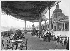 rambla francesa mar del plata 1920 Neoclassical Architecture, Vintage Architecture, Bristol, Chile, Fair Grounds, Villa, Photography, Travel, Cold War